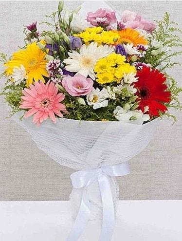 Karışık Mevsim Buketleri  Antalya Melisa ucuz çiçek gönder
