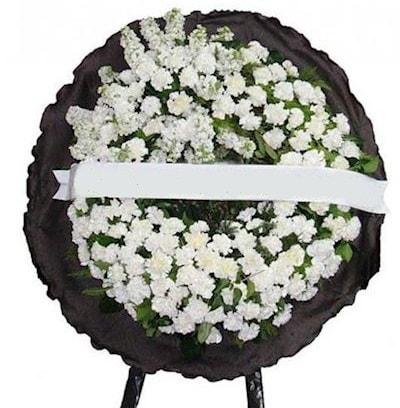 Cenaze çelengi çiçeği modelleri  Antalya Melisa internetten çiçek satışı