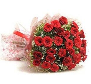 27 Adet kırmızı gül buketi  Antalya Melisa ucuz çiçek gönder