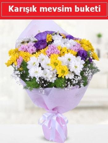 Karışık Kır Çiçeği Buketi  Antalya Melisa güvenli kaliteli hızlı çiçek